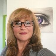 Portrait de Corinne Bisso chef maquilleuse